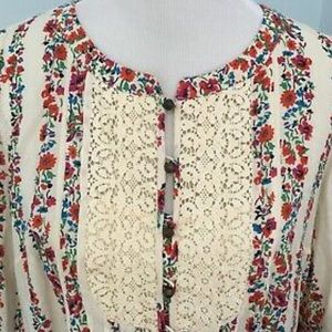 "NWOT Anthropologie ""Hiver"" blouse"